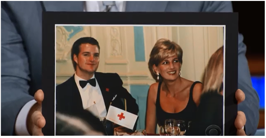 Chris O'Donnell Princess Diana;