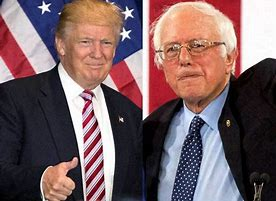 Donald Trumps and Bernie Sanders;