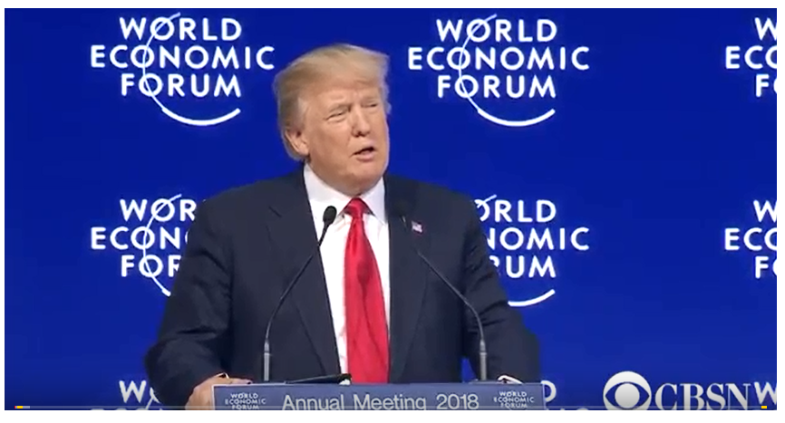 Donald Trump World Economic Forum;
