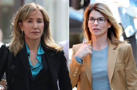 Felicity Huffman and Lori Loughlin;