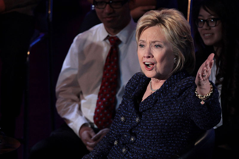 Hillary Clinton at the Black and Brown Forum;
