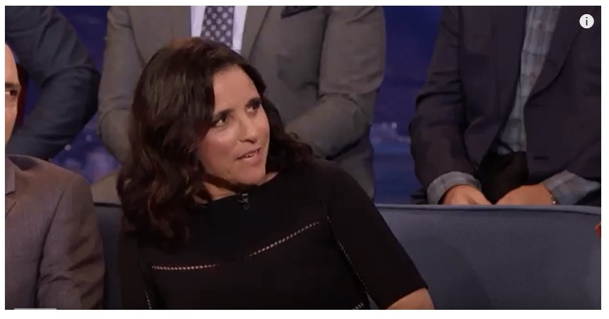 Julia Louis-Dreyfus Conan O'Brien;