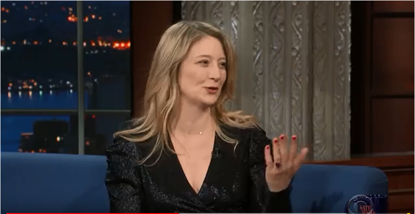 The Late Show with Stephen Colbert guest Heidi Schreck