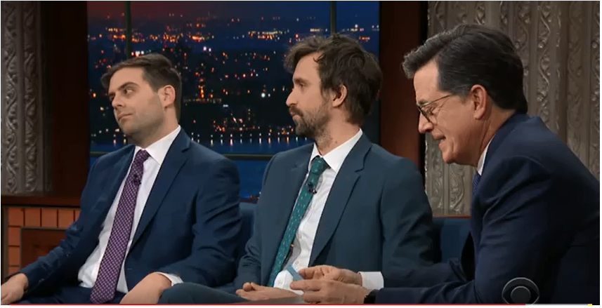 The Late Show with Stephen Colbert Matt Ingebretson and Jake Weisman ;