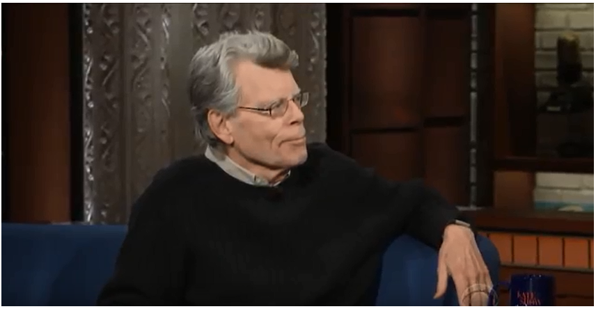 The Late Show with Stephen Colbert Stephen King;