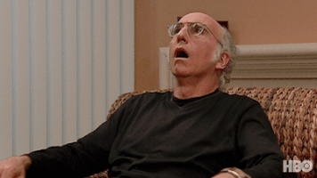 Larry David on a Couch;