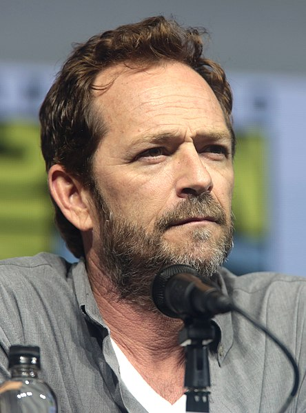 Actor Luke Perry at San Diego Comic Con International