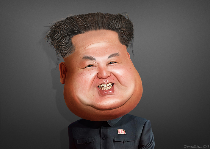 North Korean Leader Kim Jong-un;
