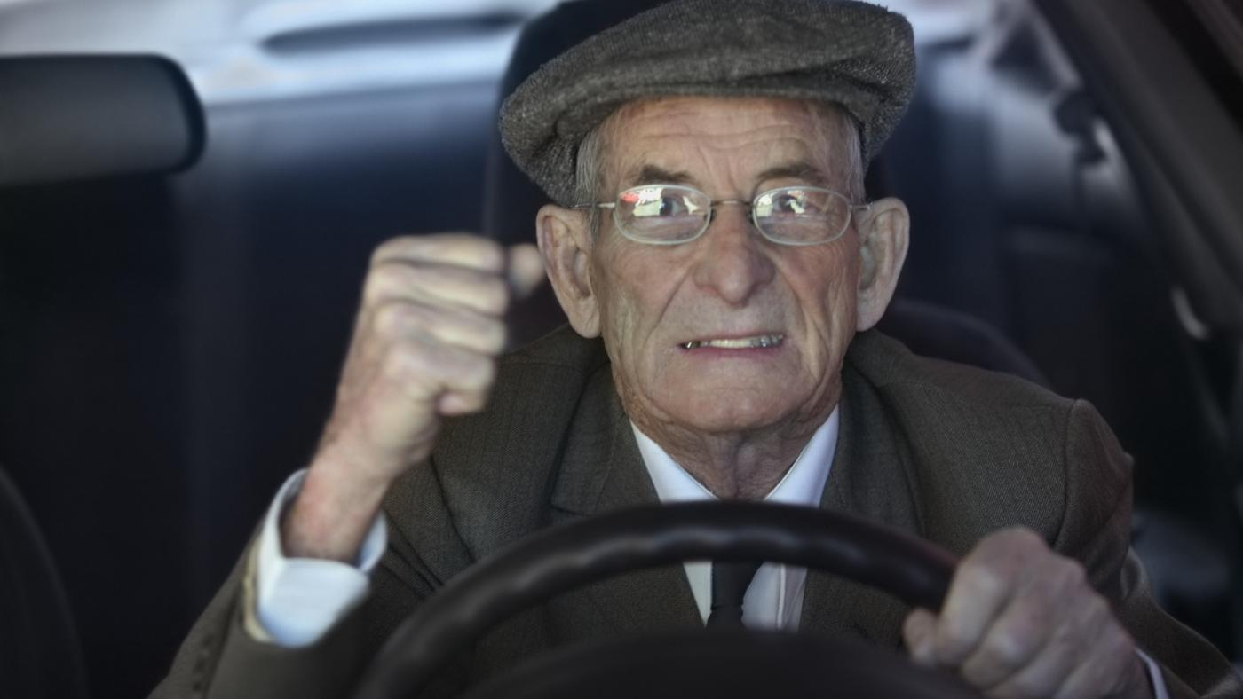 Old Man Driving;
