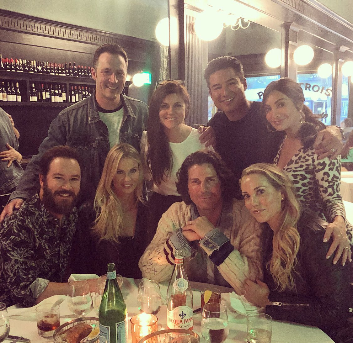 Saved by the Bell friends celebrating 30 years of the show;
