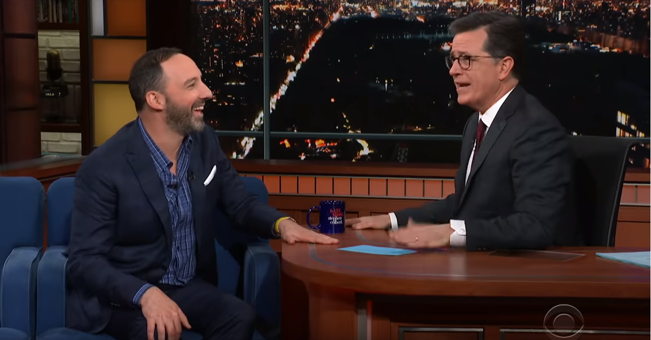 The Late Show with Stephen Colbert guest Tony Hale